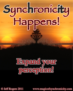 Synchronicity happens